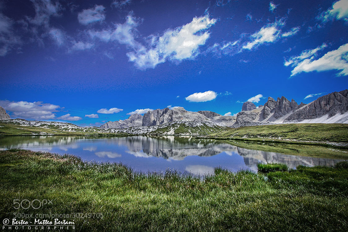 Photograph laghi dei piani's reflection by Matteo Bertani - Berteo on 500px