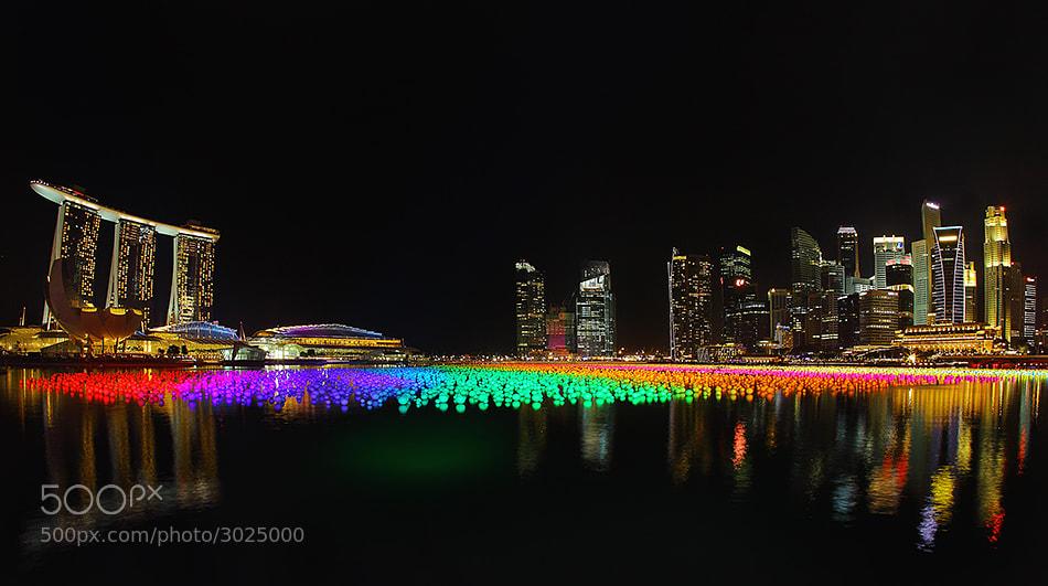 Photograph Colorful Marina by Adhitiya Wibhawa on 500px