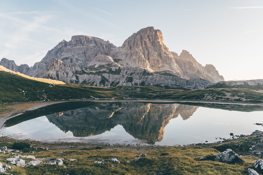 Mountain reflection. by Jelle Canipel on 500px.com