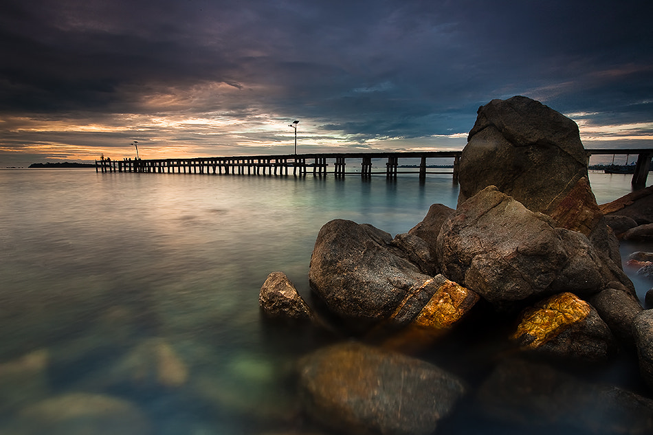 Photograph Sunset at Tanjung Binga by Adhitiya Wibhawa on 500px