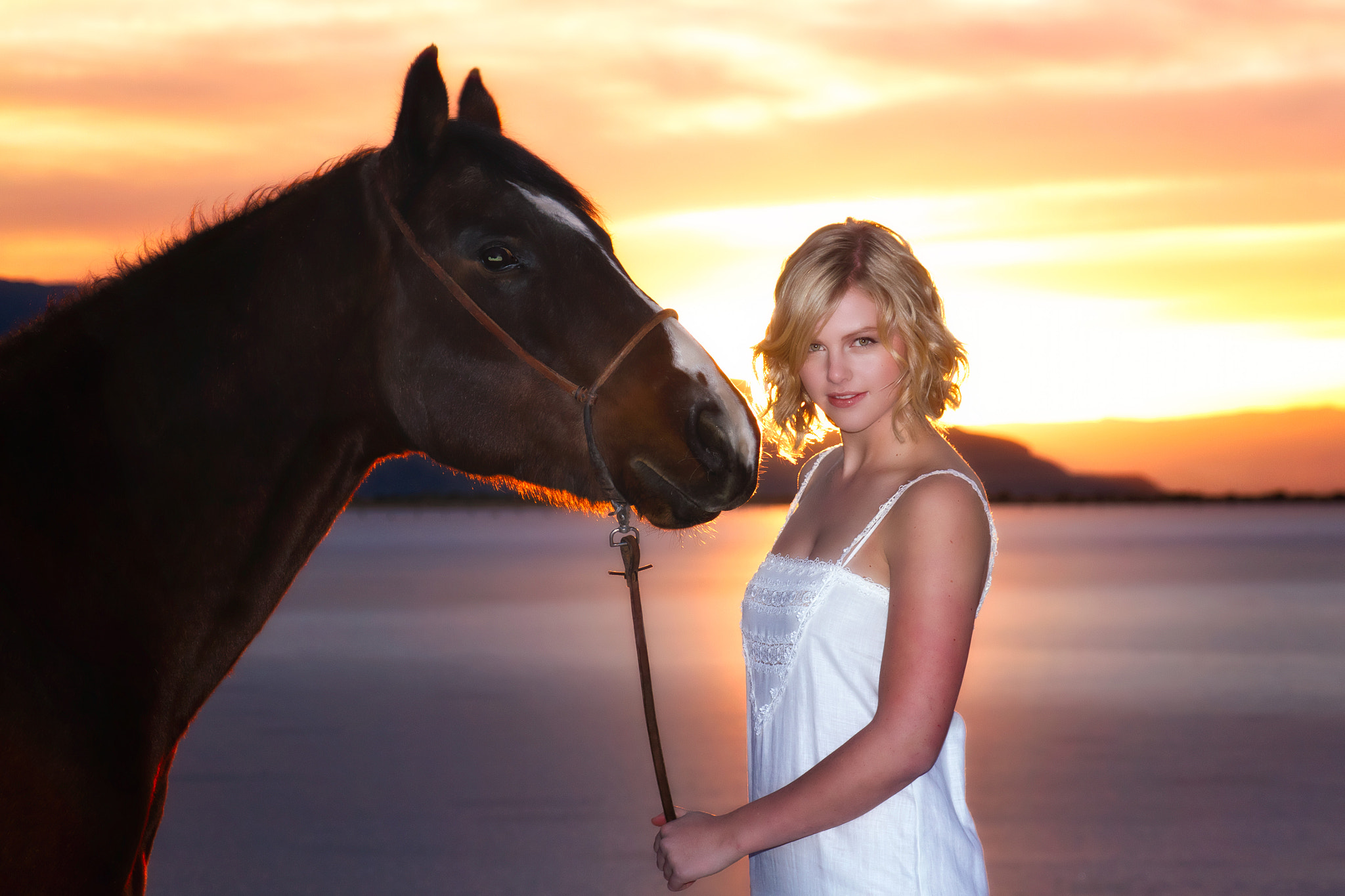 Photograph a girl and a horse by Scott Stringham on 500px