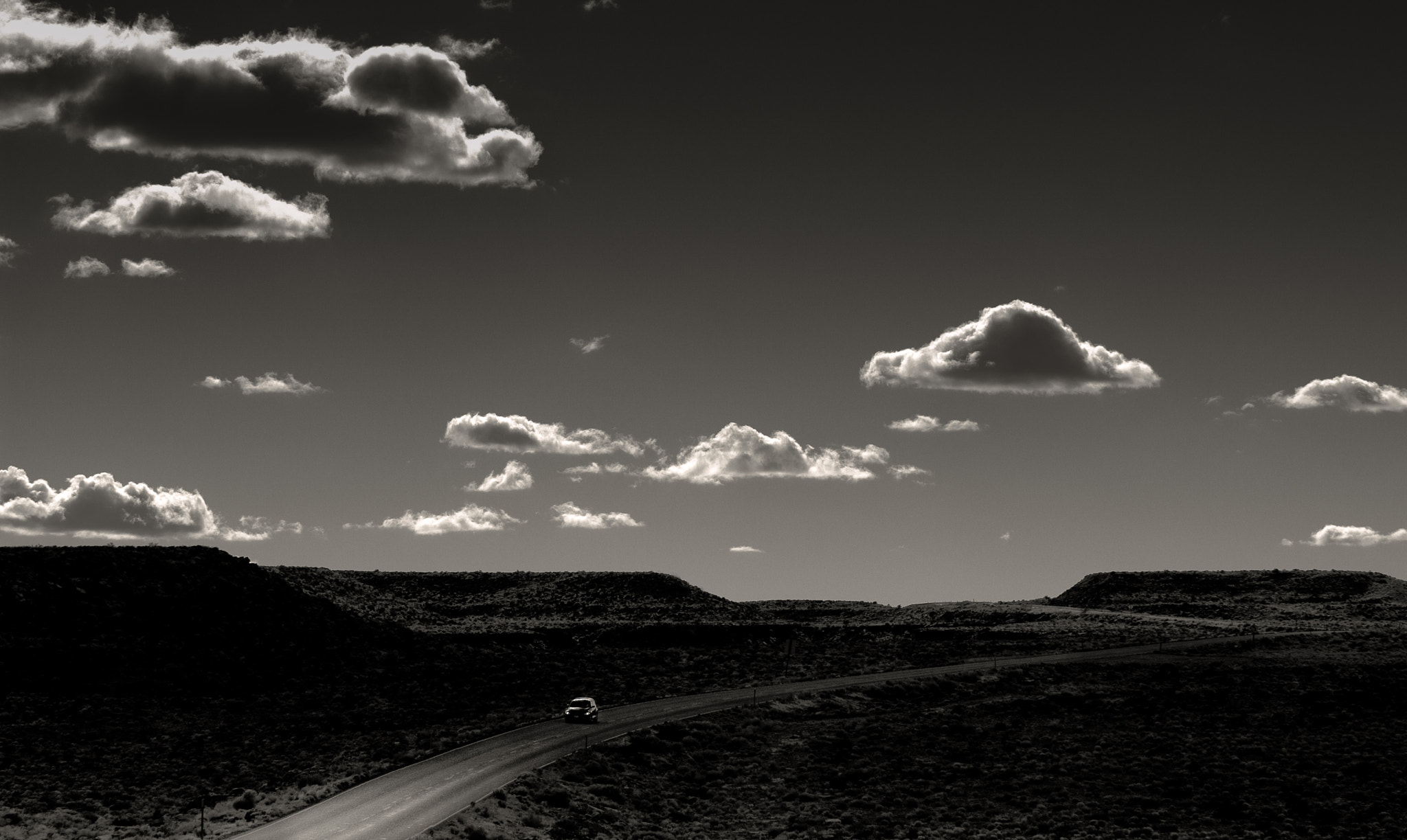 Photograph On the Road to Monument Valley by Keith Skelton on 500px