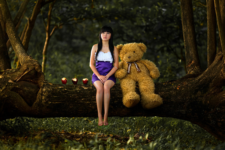 Photograph With my Bear by Adhitiya Wibhawa on 500px