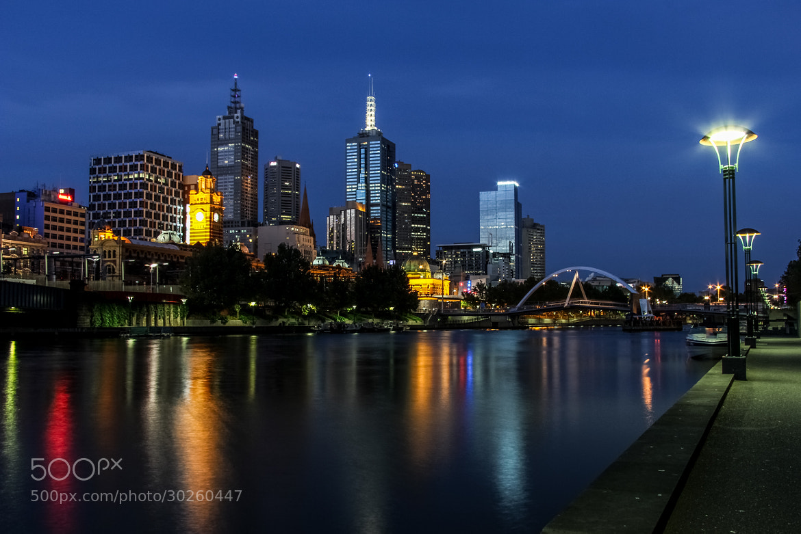 Photograph city at night by Edib Unal on 500px