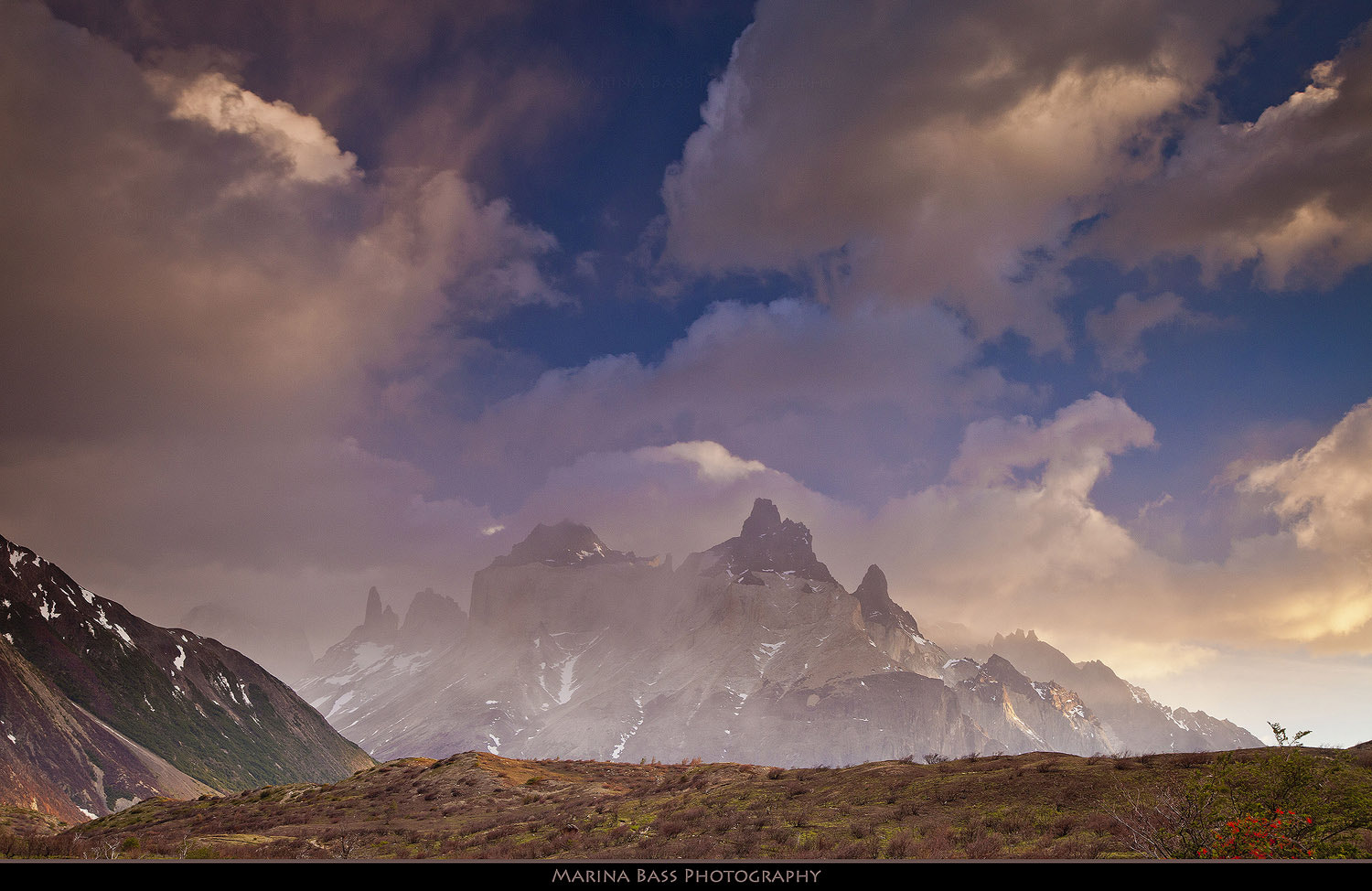 Photograph Misty Morning in Torres Del Paine by Marina Bass on 500px