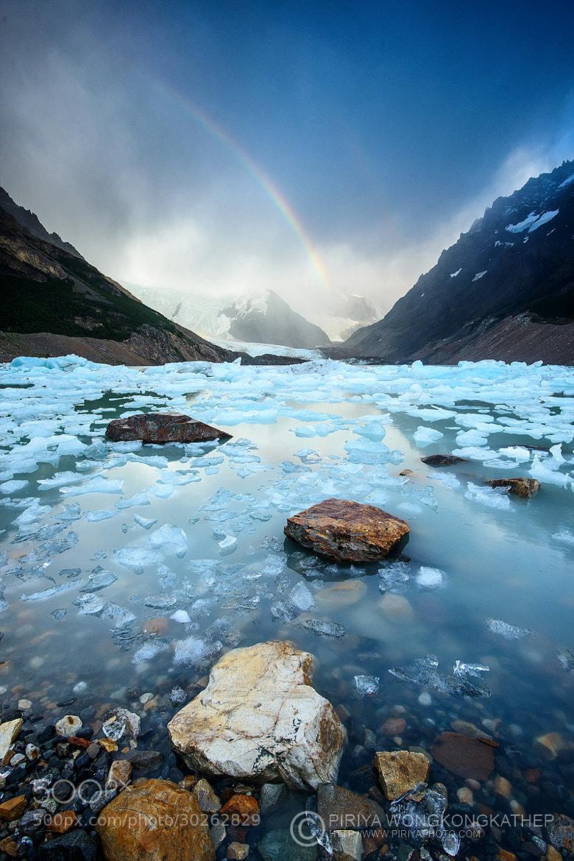 Photograph Rainbow on Ice by Pete Wongkongkathep on 500px