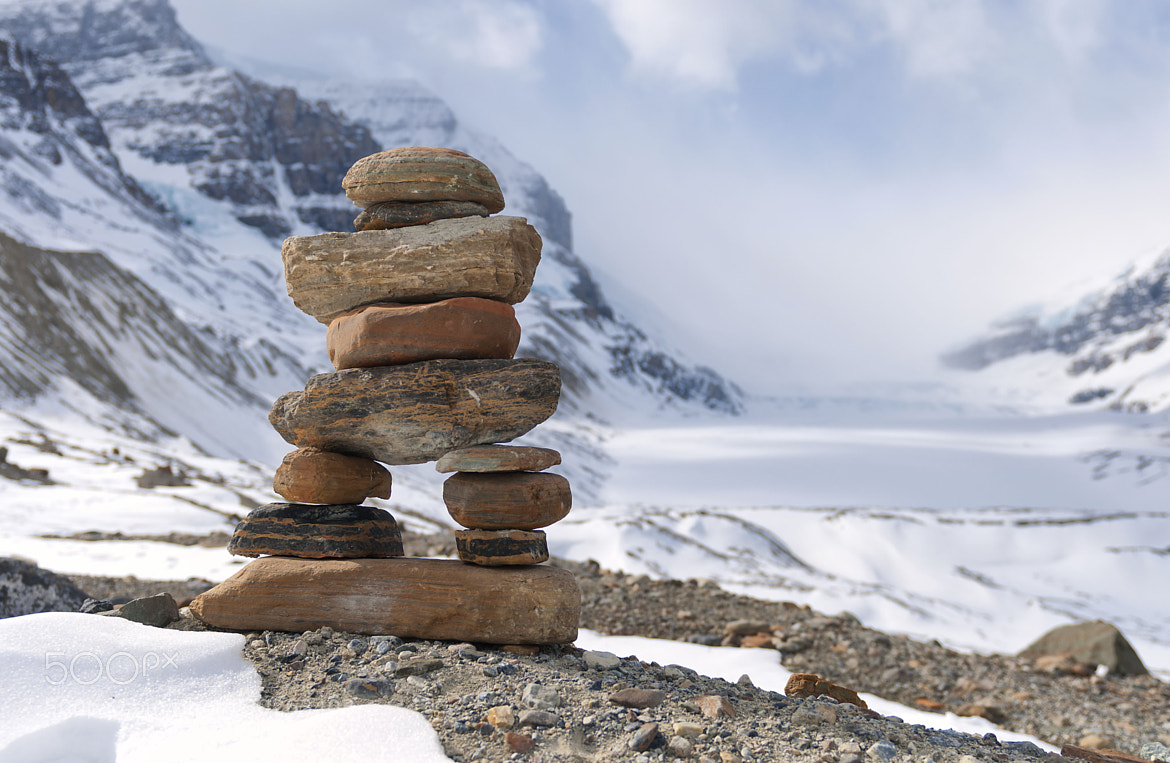 Photograph inukshuk by Yves Gagnon on 500px