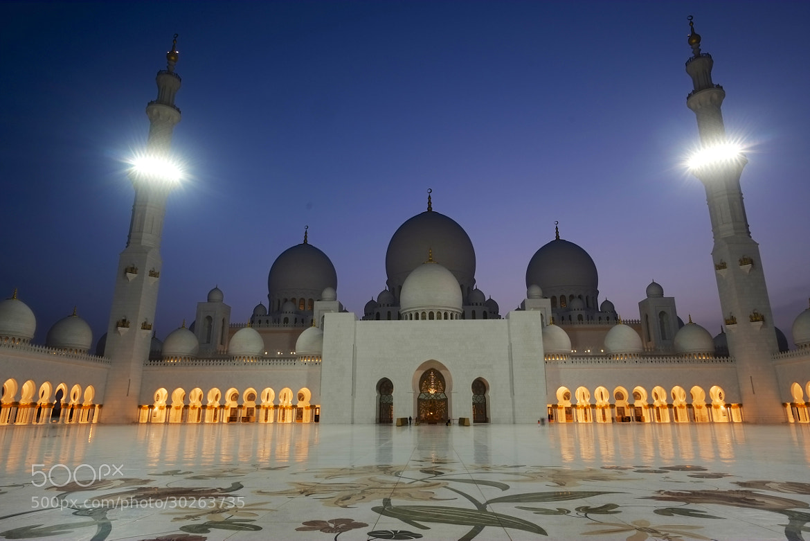 Photograph Grand Mosque by world_image on 500px