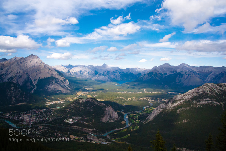 What a View by Angela Boyko (angelamermaid)) on 500px.com Banff National Park