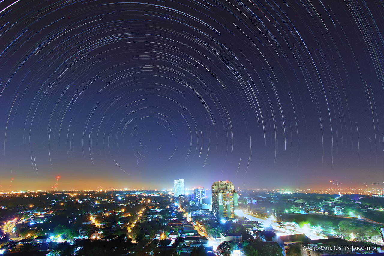 Photograph Urban Star Trails by Emil Justin Jaranilla on 500px
