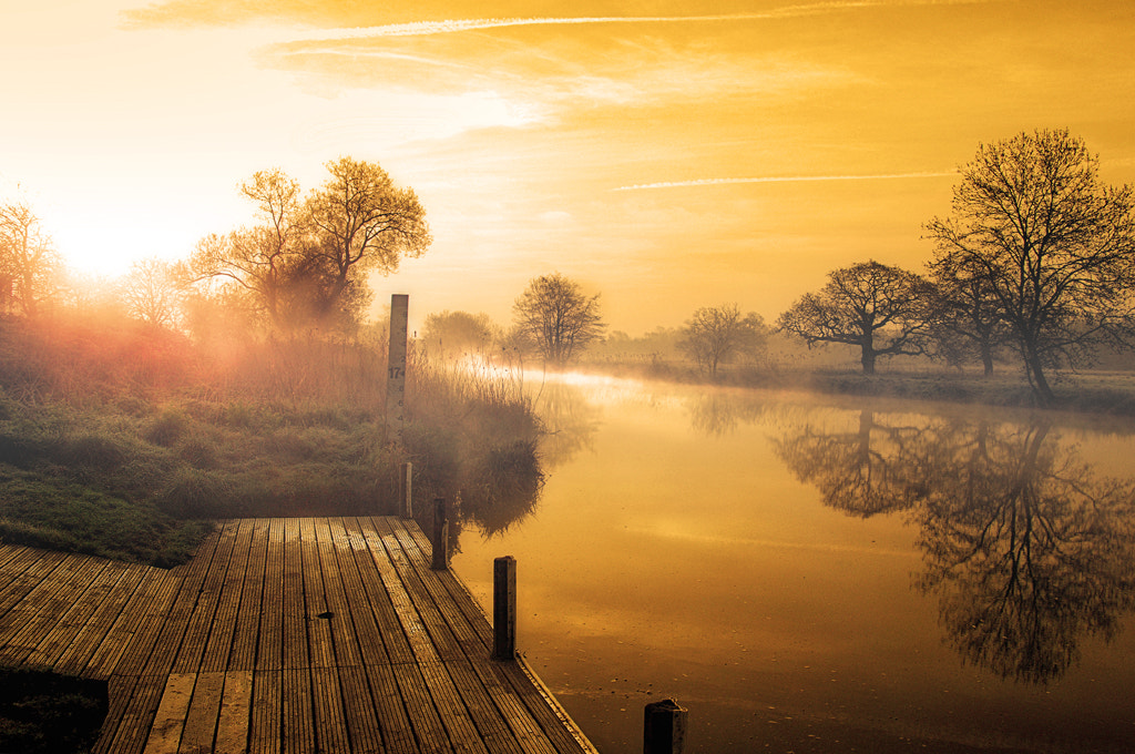 Photograph golden sunrise by David Mar Quinto on 500px