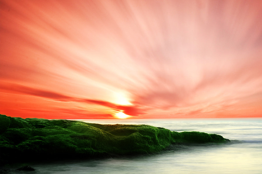 Photograph Sunset At The Mediterranean  by Mostafa Ammar on 500px