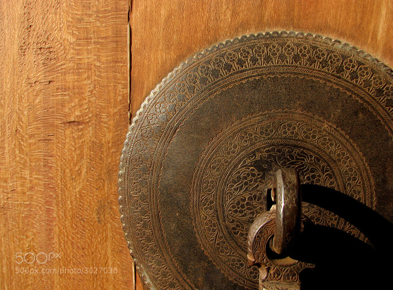 Photograph A Persian Door (Detail) by Armin Ghasemi on 500px