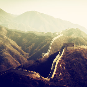 Great Wall of China by peter stewart on 500px.com