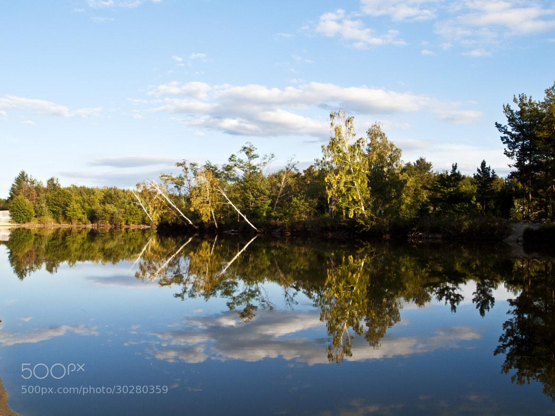 Photograph Gazarka lake by Steve Harrison on 500px