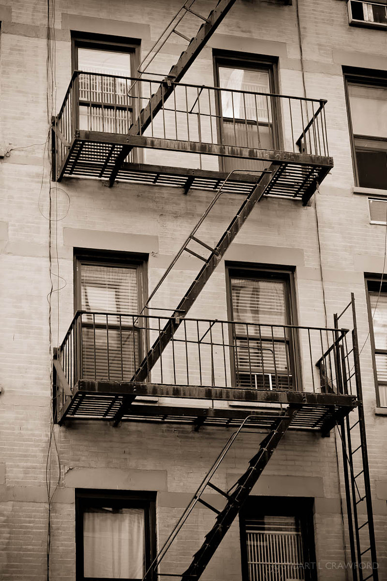 Photograph Fire Escape by Stuart Crawford on 500px