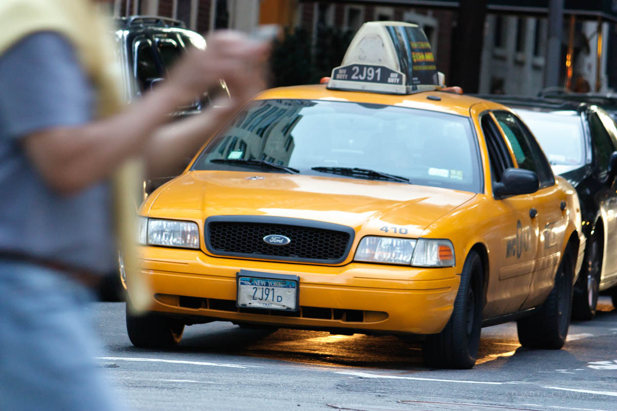 Photograph NYC Taxi by Stuart Crawford on 500px