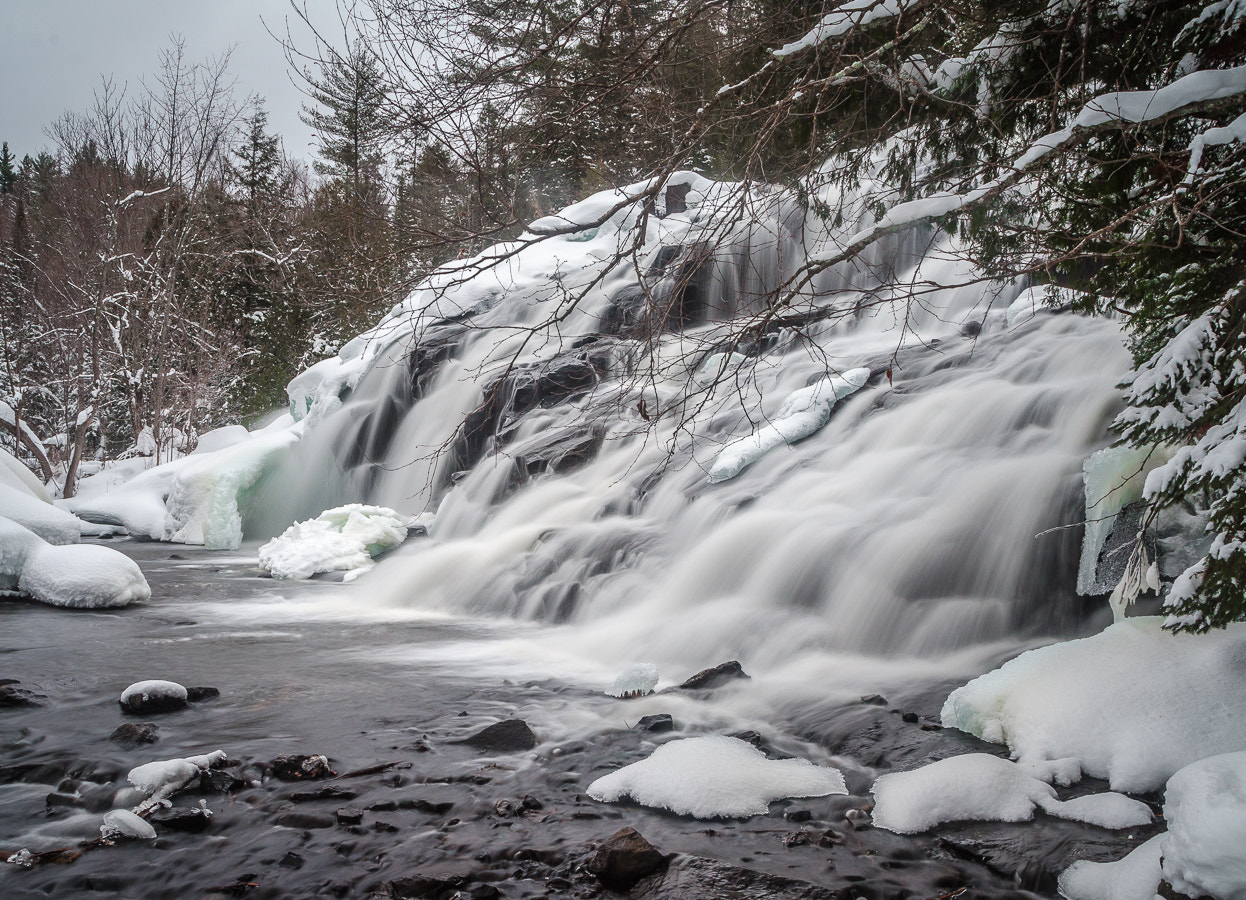 Photograph Bond Falls in Winter #2 by Stevan Tontich on 500px