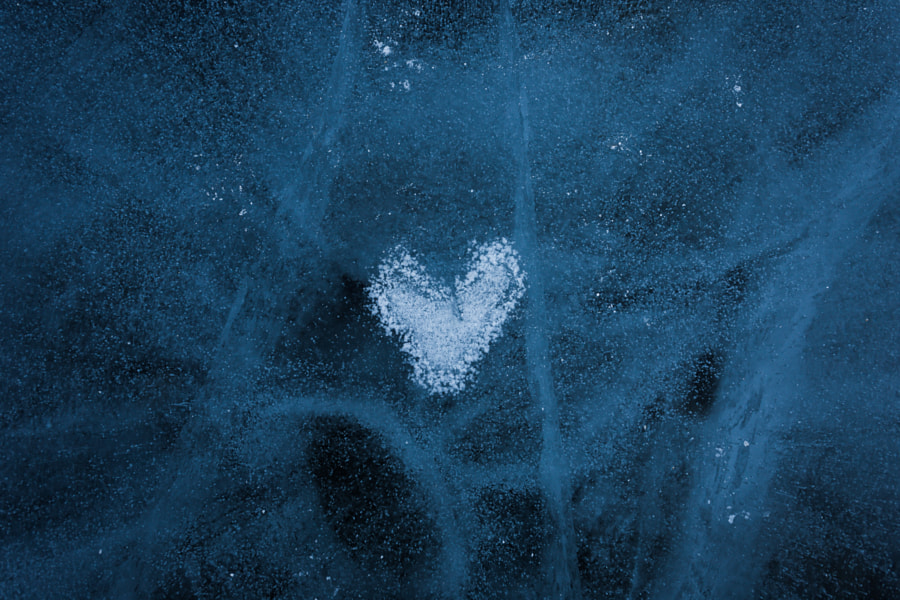 Ice heart by Sergy Shaby on 500px.com