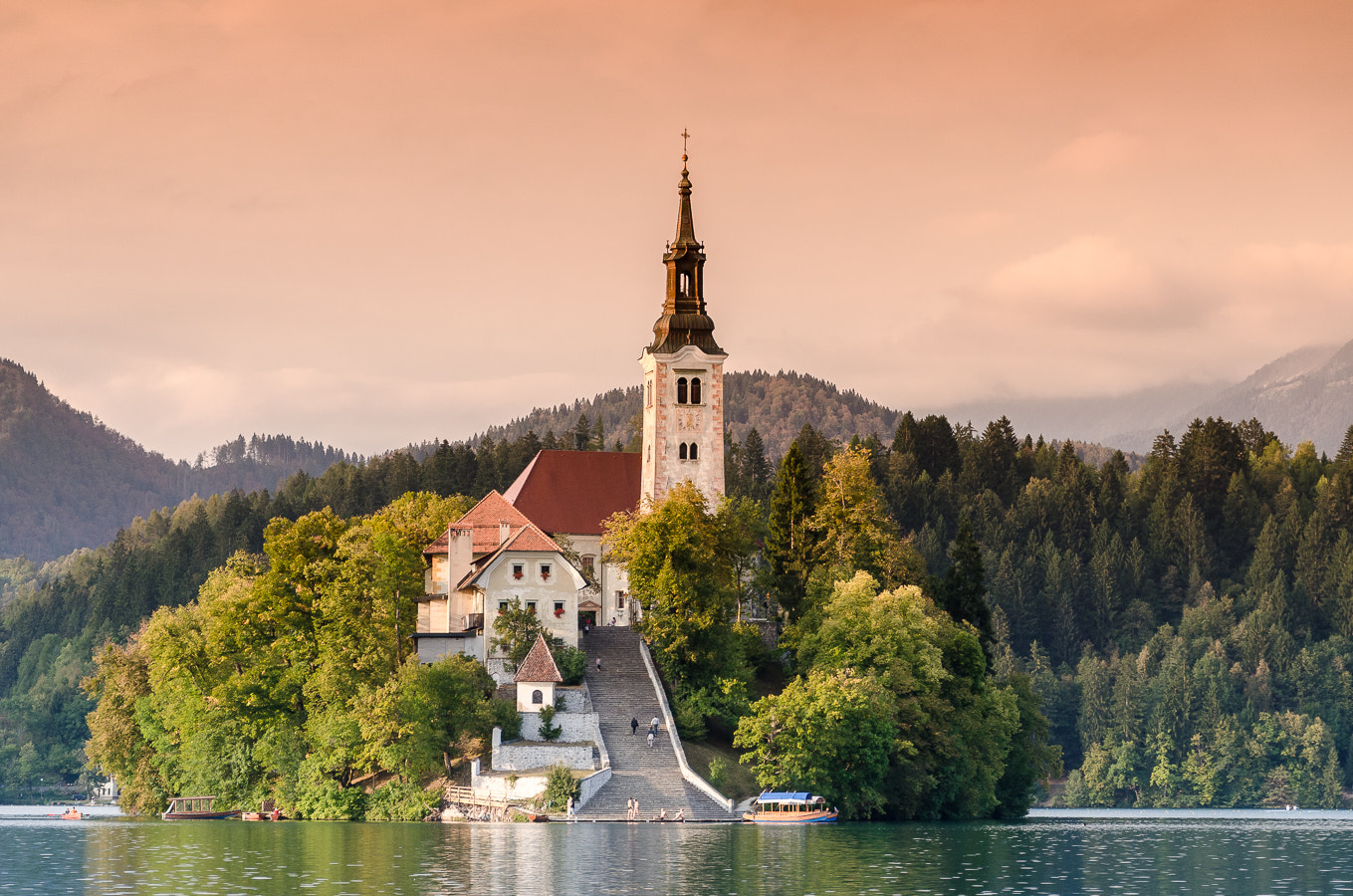 Photograph Bled Sunset View by Stevan Tontich on 500px