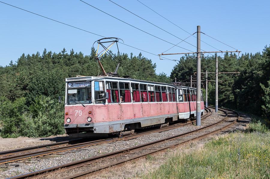 Старооскольский трамвай by Sergey Kalinov on 500px.com