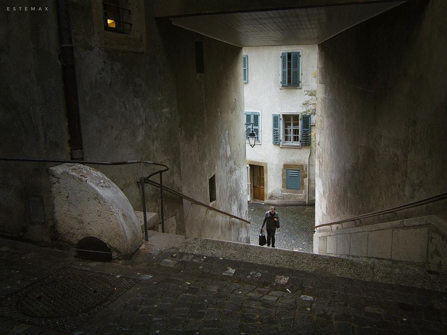 Genève, les ruelles  by Ramon Millet on 500px.com