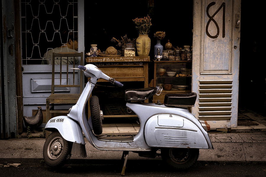 eric dearbeck vintage scooter by Eric Dearbeck on 500px.com