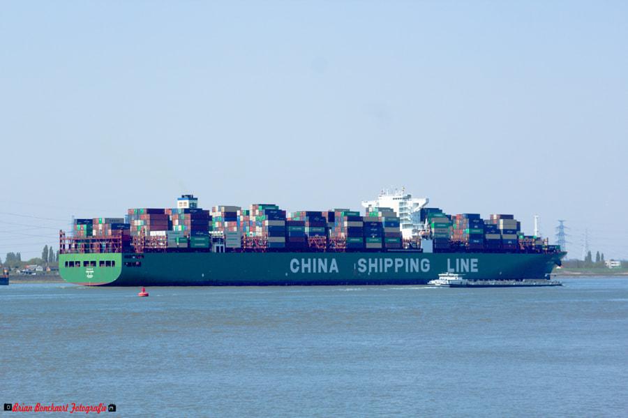 China Shipping Line Mars by Brian Bonckaert on 500px.com