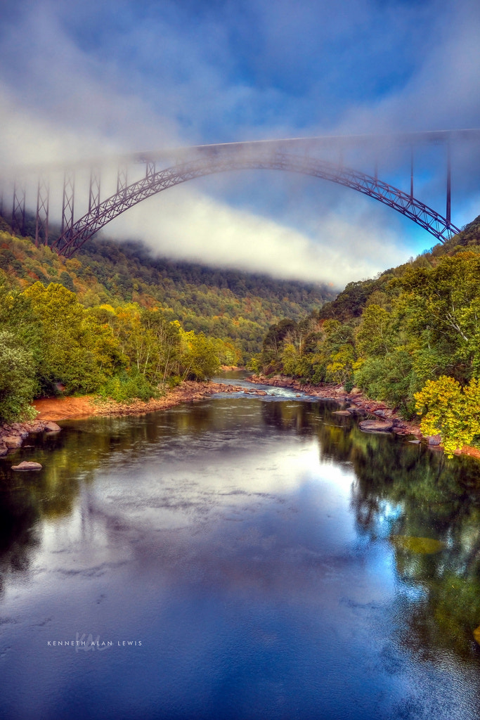 Photograph New River Gorge Bridge by kenneth alan lewis on 500px