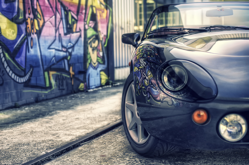 Photograph TVR Griffith 500 with Graffity by Oriano Comuzzi on 500px