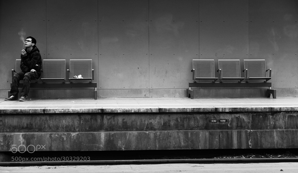 Photograph The Smoker by Georgie Pauwels on 500px
