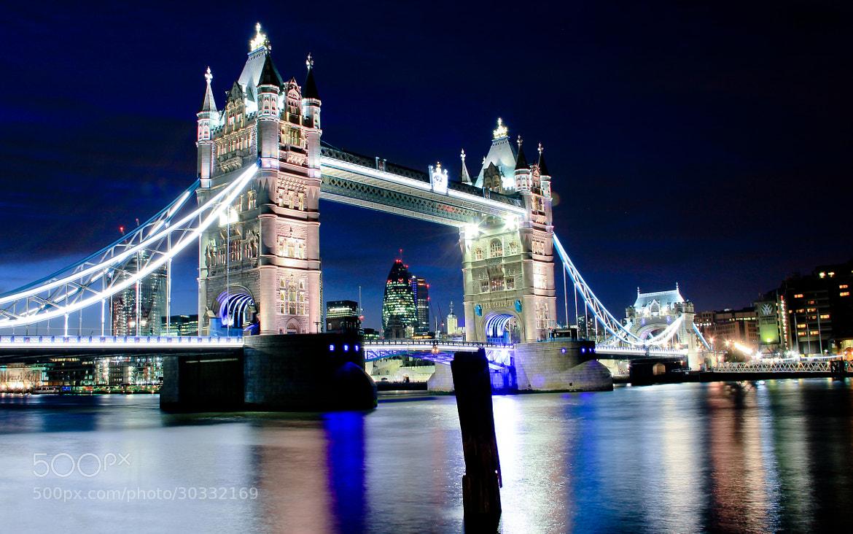 Photograph Tower Bridge @ Night by Tony Jones on 500px