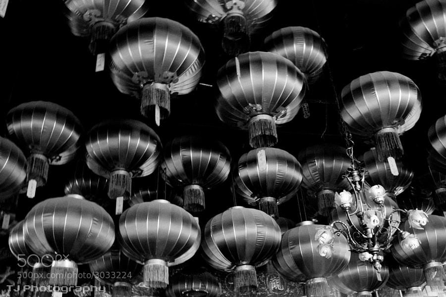 Photograph Hanging lanterns by Ting Teck Jong on 500px