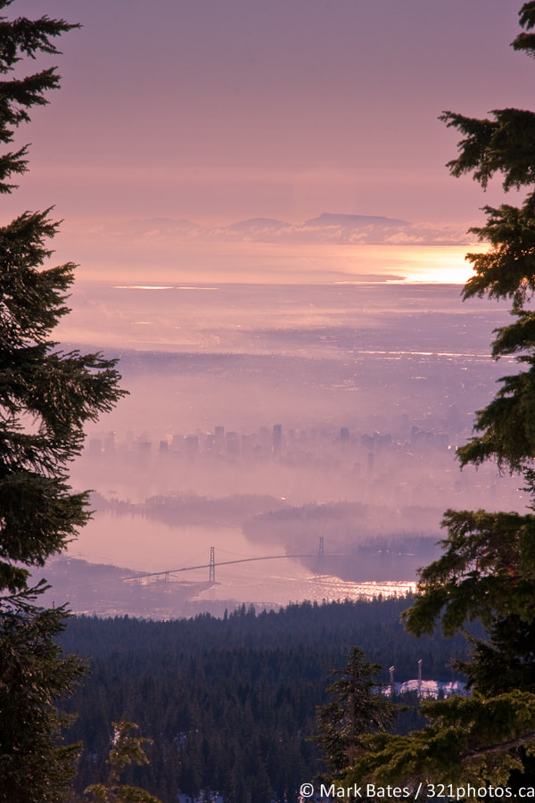 Photograph Vancouver in Fog by Mark Bates on 500px