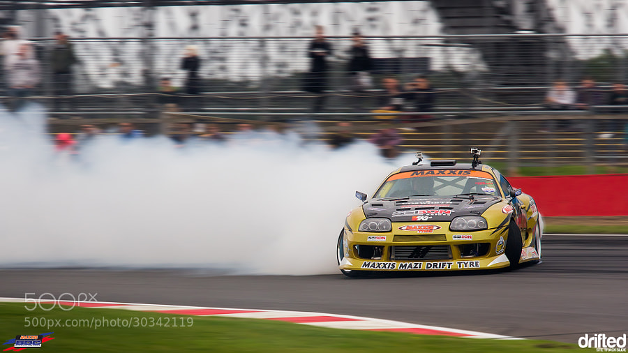 @ the British Drift Championship, Silverstone GP 2013
