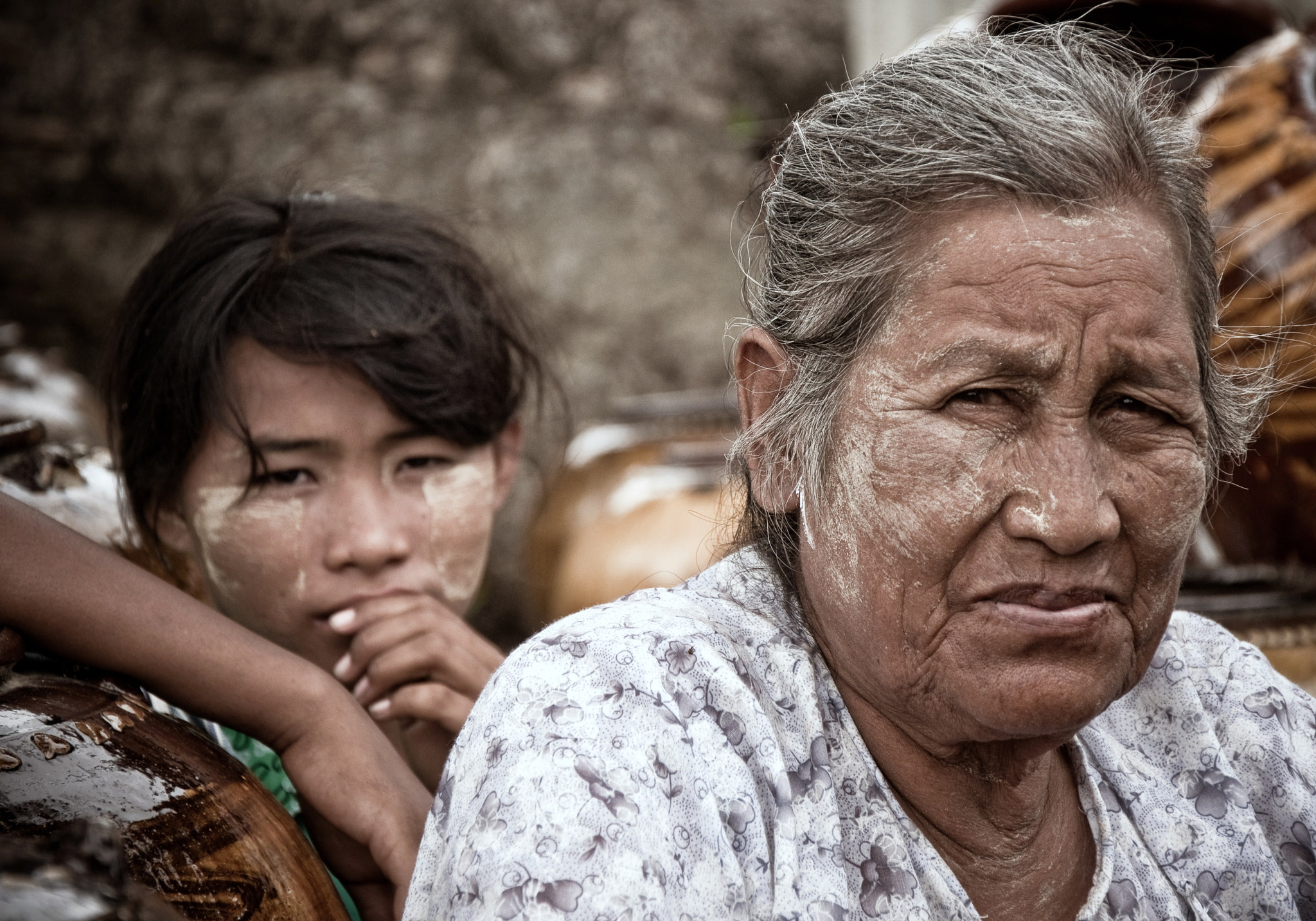 Photograph Old and Young (Mingun, Burma) by Nabil BACHIR-CHERIF on 500px