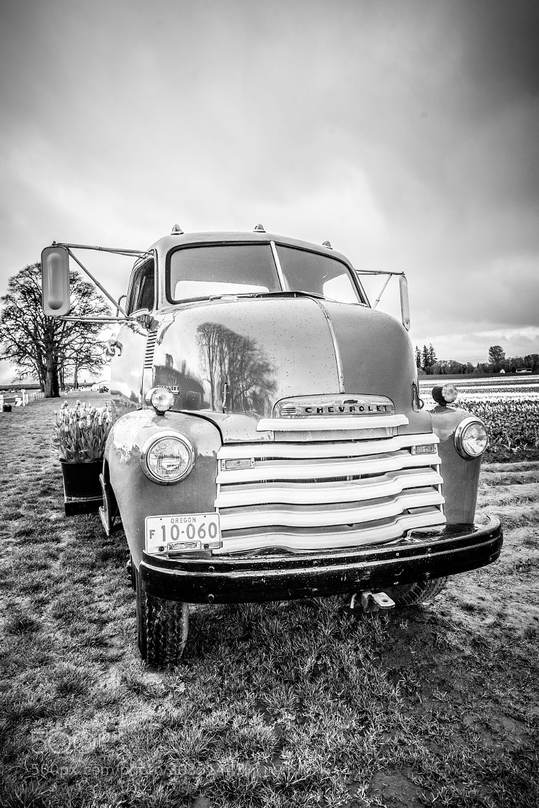 Photograph HDR B&W Chevrolet by Rachel Houghton on 500px
