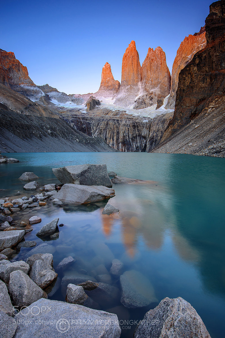 Photograph Mirador Torres Alpenglow by Pete Piriya on 500px