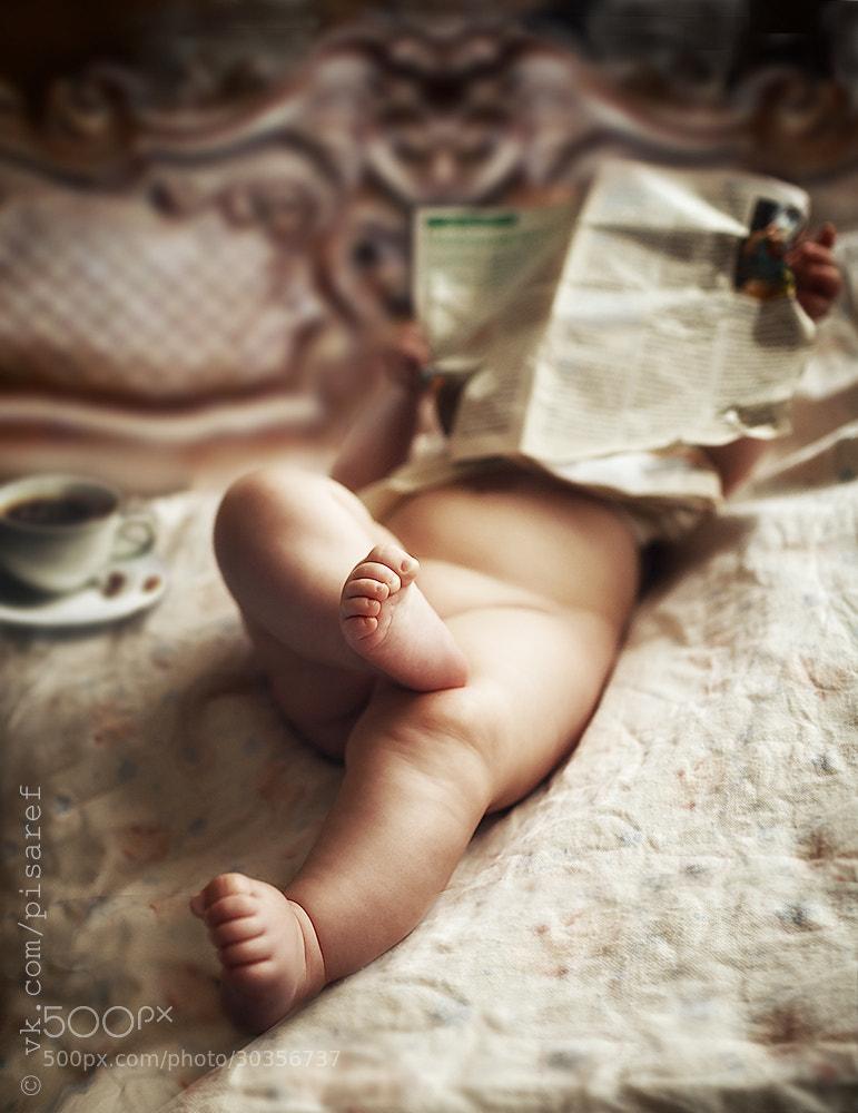 Photograph Morning press by Anton Pisarev on 500px