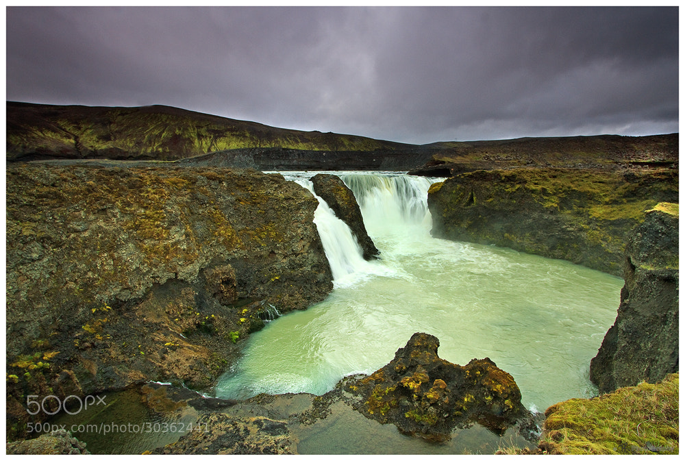 Photograph Sigoldufoss by Tobi K on 500px
