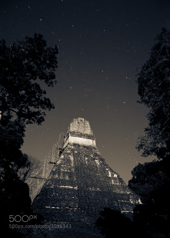Photograph Tikal - Temple I by Lukas Wenger on 500px