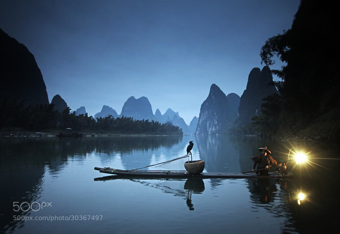 Photograph Guilin Fisherman, China's cormorant fishing by Woosra Kim on 500px
