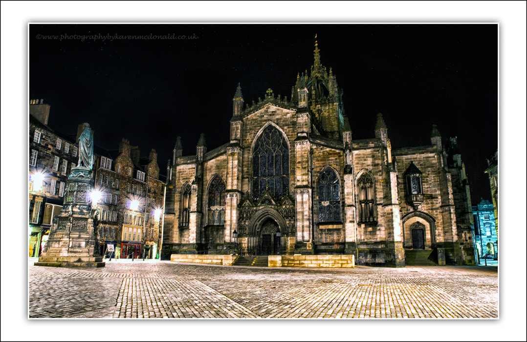 Photograph St Gile's Cathedral by Karen McDonald on 500px