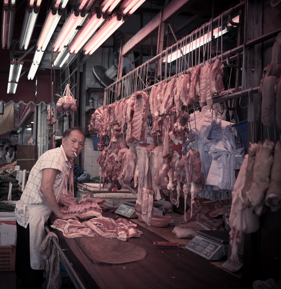 Photograph meat stall by rocco paduano on 500px