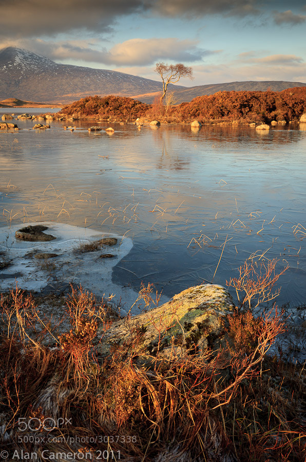 Photograph Lochan nah Achlaise by Alan Cameron on 500px