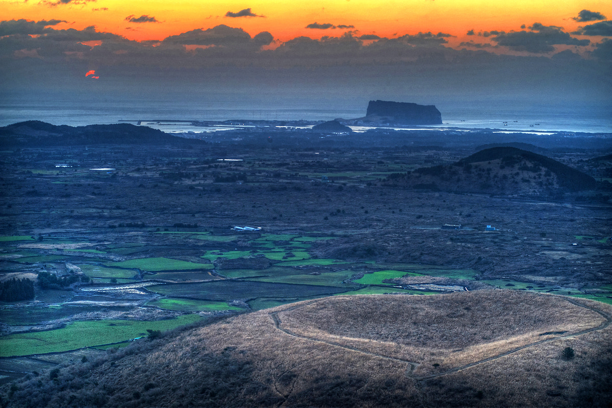 Photograph Sunrise on Dalanshi-Orum Jeju Island by Eduardo choi on 500px
