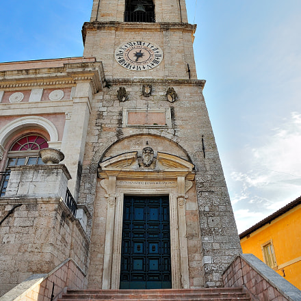Clock Tower of the Town Hall of Norcia.