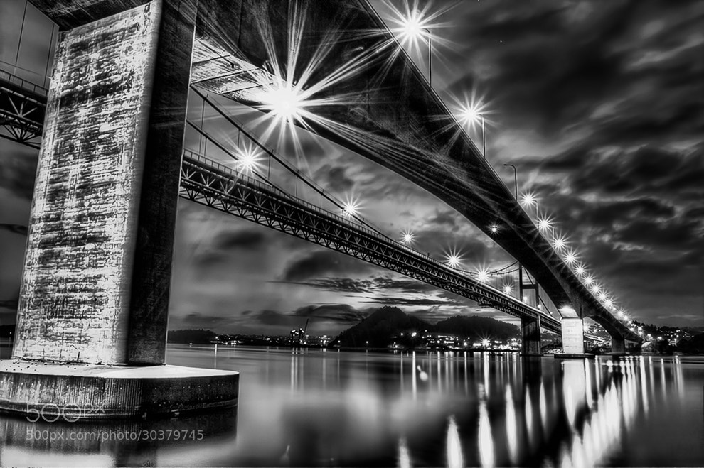 Photograph B / W  B R I D G E by Nicklas Winger on 500px