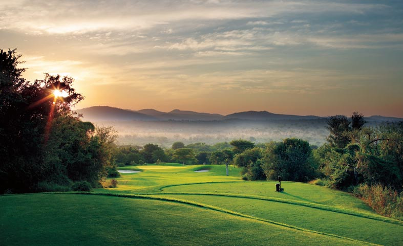 Photograph Leopard Creek Country Club - Hole 12 - par 3 by Grant Leversha on 500px