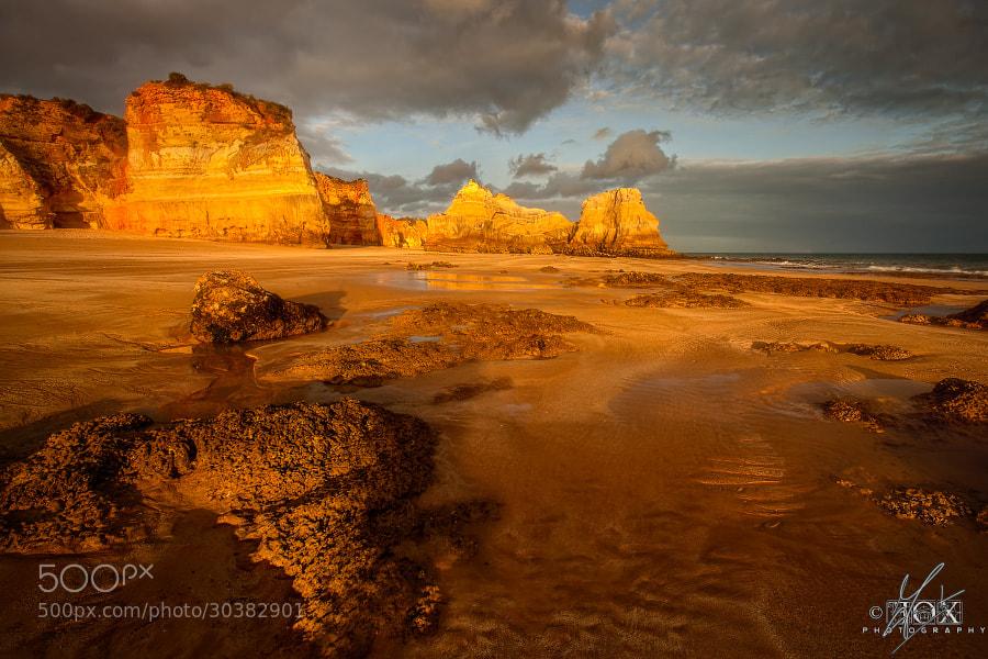 Photograph Light on Praia da Rocha by Enrico Fossati on 500px